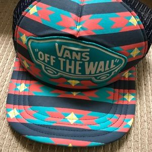 "Vans ""Off The Wall"" Baseball Cap"